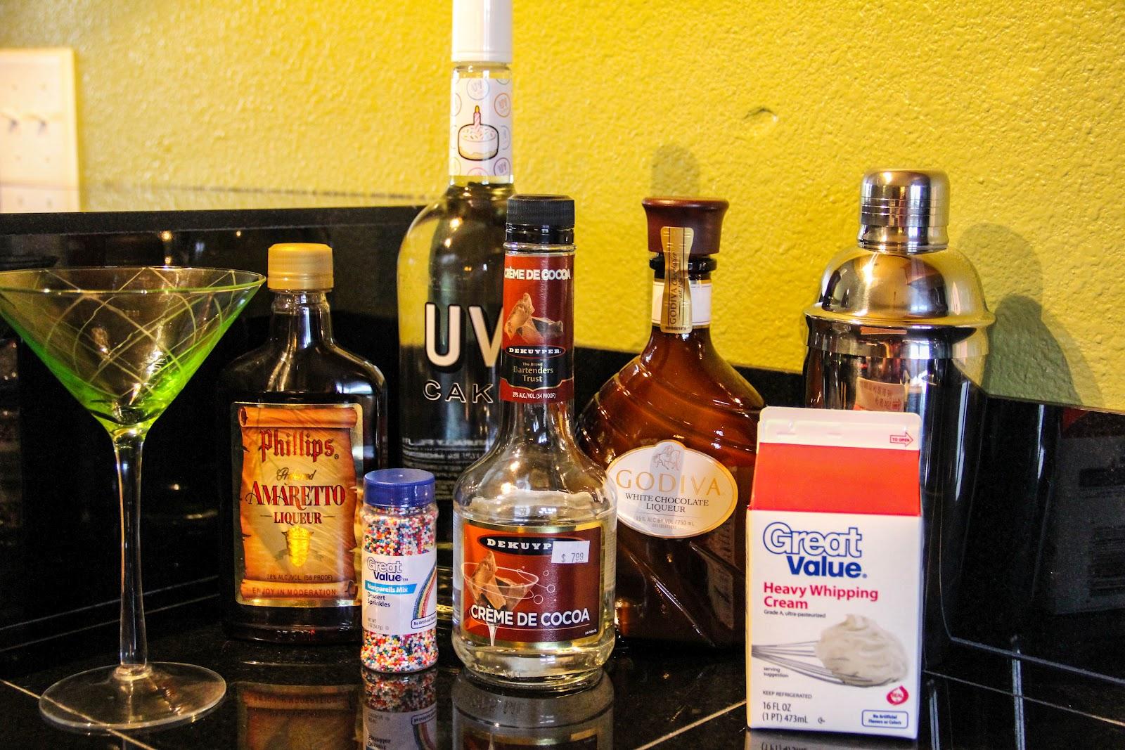 Diary of a Recipe Addict Cake Batter Martini