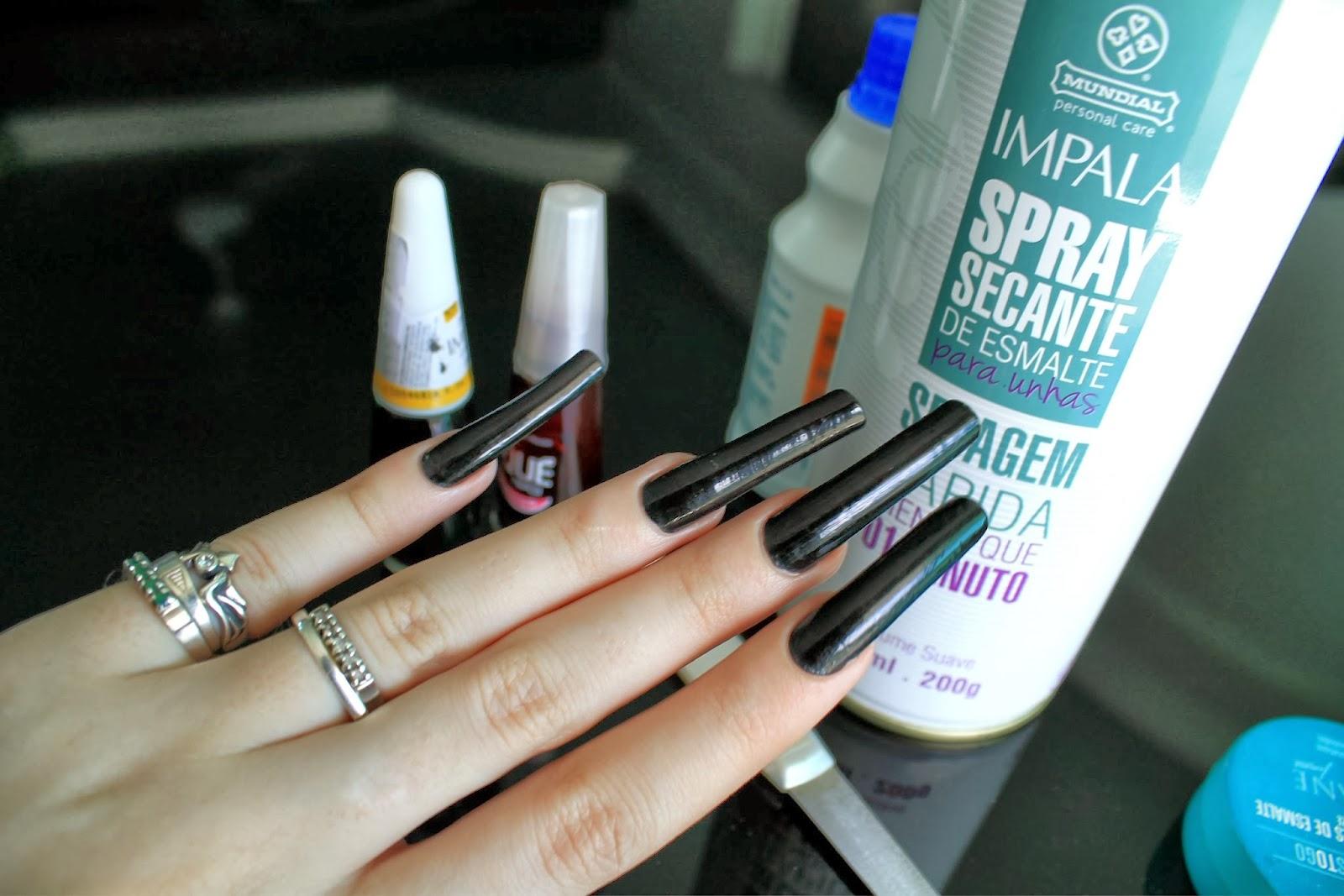 Santta tend ncia dica spray secante de esmalte for Esmalte para baneras en spray
