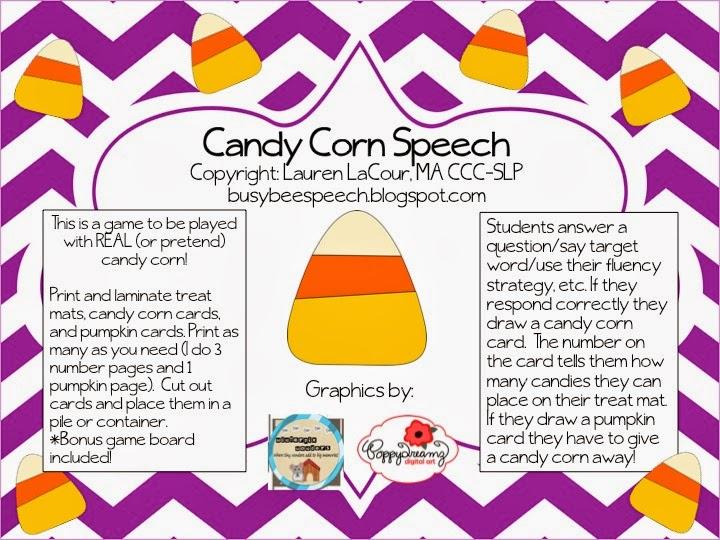 speechie freebies candy corn speech freebie. Black Bedroom Furniture Sets. Home Design Ideas