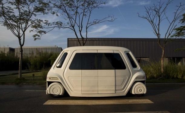 VANKE, Mobil Tanpa Pengemudi Buatan China