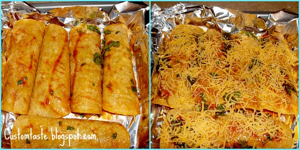 Meal Idea Mondays: BBQ Pork Enchiladas for Two by Custom Taste