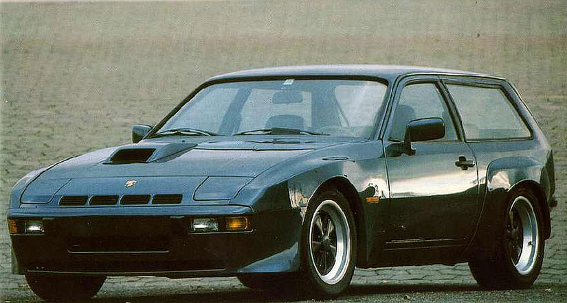 The Fast And Furious Porsche 924 Shooting Brake