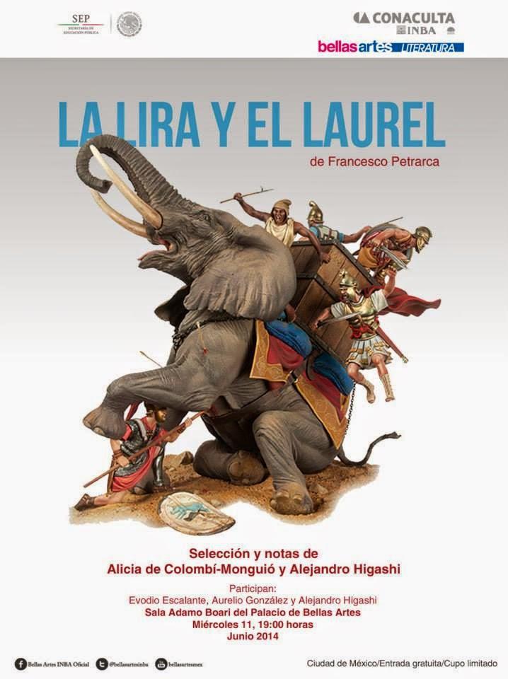 """Presentan el libro """"La lira y el laurel"""" con versos de Francisco Petrarca"""