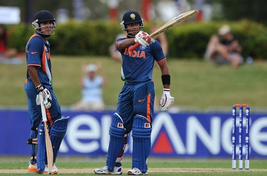Unmukt Chand and Smit Patel in Under-19 World Cup Final