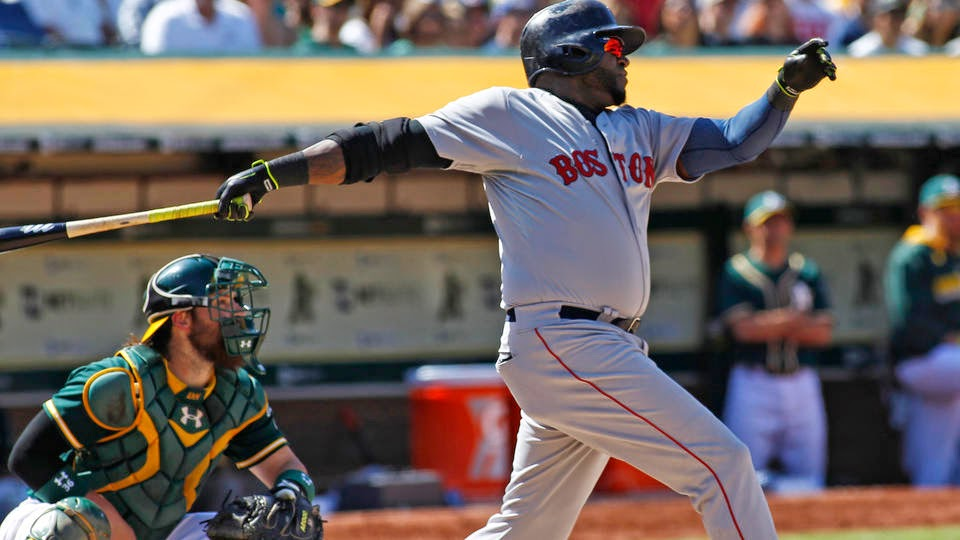 David Ortiz Named FN's August Player O' Month