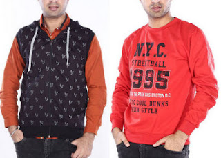 Paytm : Get At upto 50% off And Extra upto 30% Cashback On Men's Branded Winter Wear, starting at Rs.174 Only
