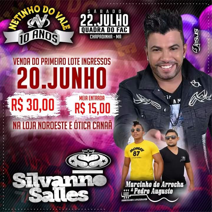 Silvanno Salles - Dia 22 de Julho