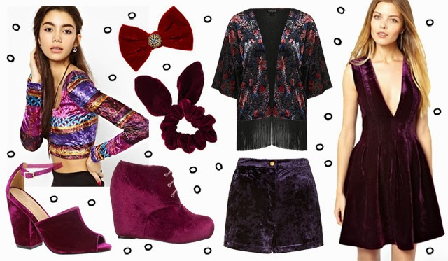 velvet, fashion trend aw 2013, berry shades, berry colours