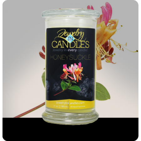 embellished scent candles