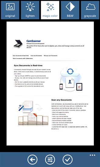 CamScanner – Máy scan di động