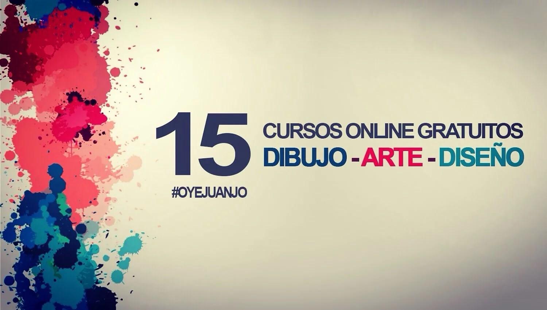 15 cursos online gratis de Dibujo Arte y Diseo con certificado