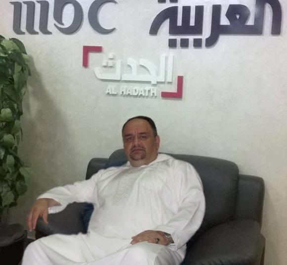 د. رشيد الطوخي في زيارة خاصة ولقاء مع قناة العربية