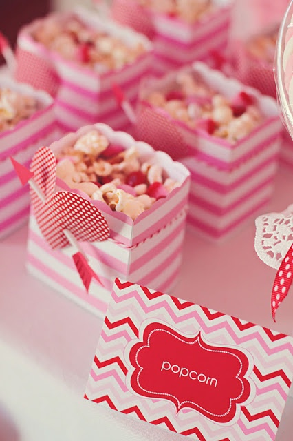 diy favor bags from camille styles - Valentine Goodie Bag Ideas