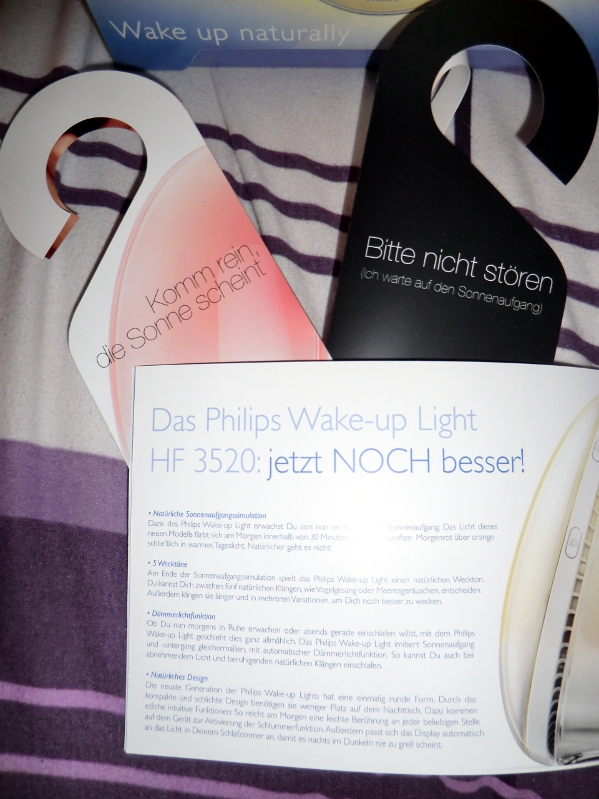 Kathrins Blog Getestet Das Neue Philips Wake Up Light