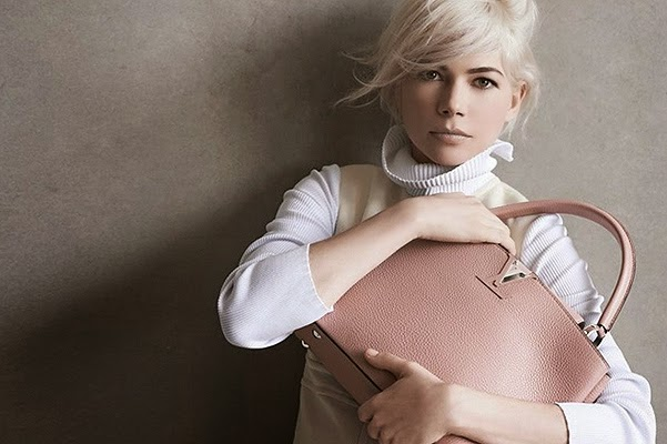 Michelle Williams in a new advertising campaign for Louis Vuitton