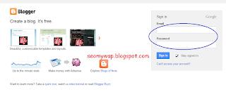 tutorial membuat blog di blogspot