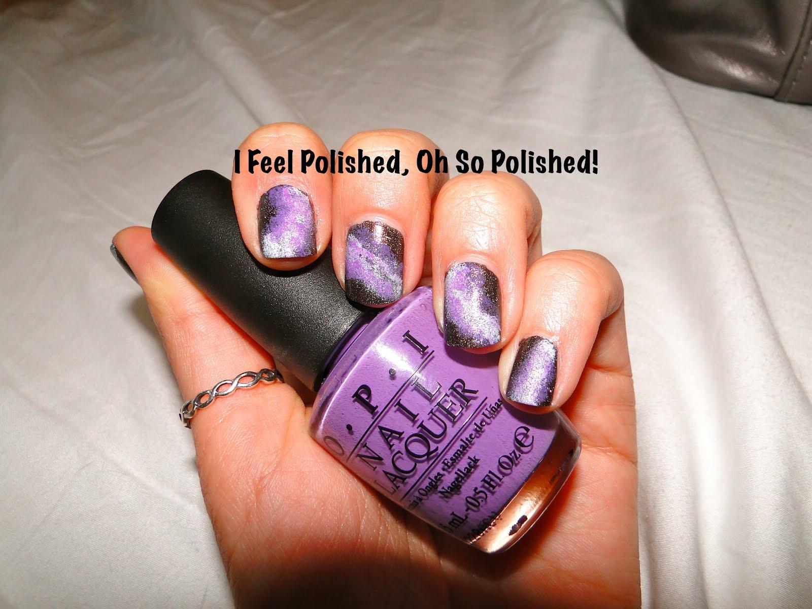 I Feel Polished!: Galaxy Nail Fun!