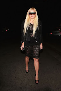 Amanda Bynes – Diana Madison's Holiday party at West Hollywood