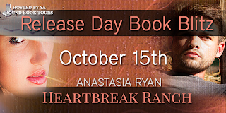 Release Day Book Blitz + Giveaway : Heartbreak Ranch