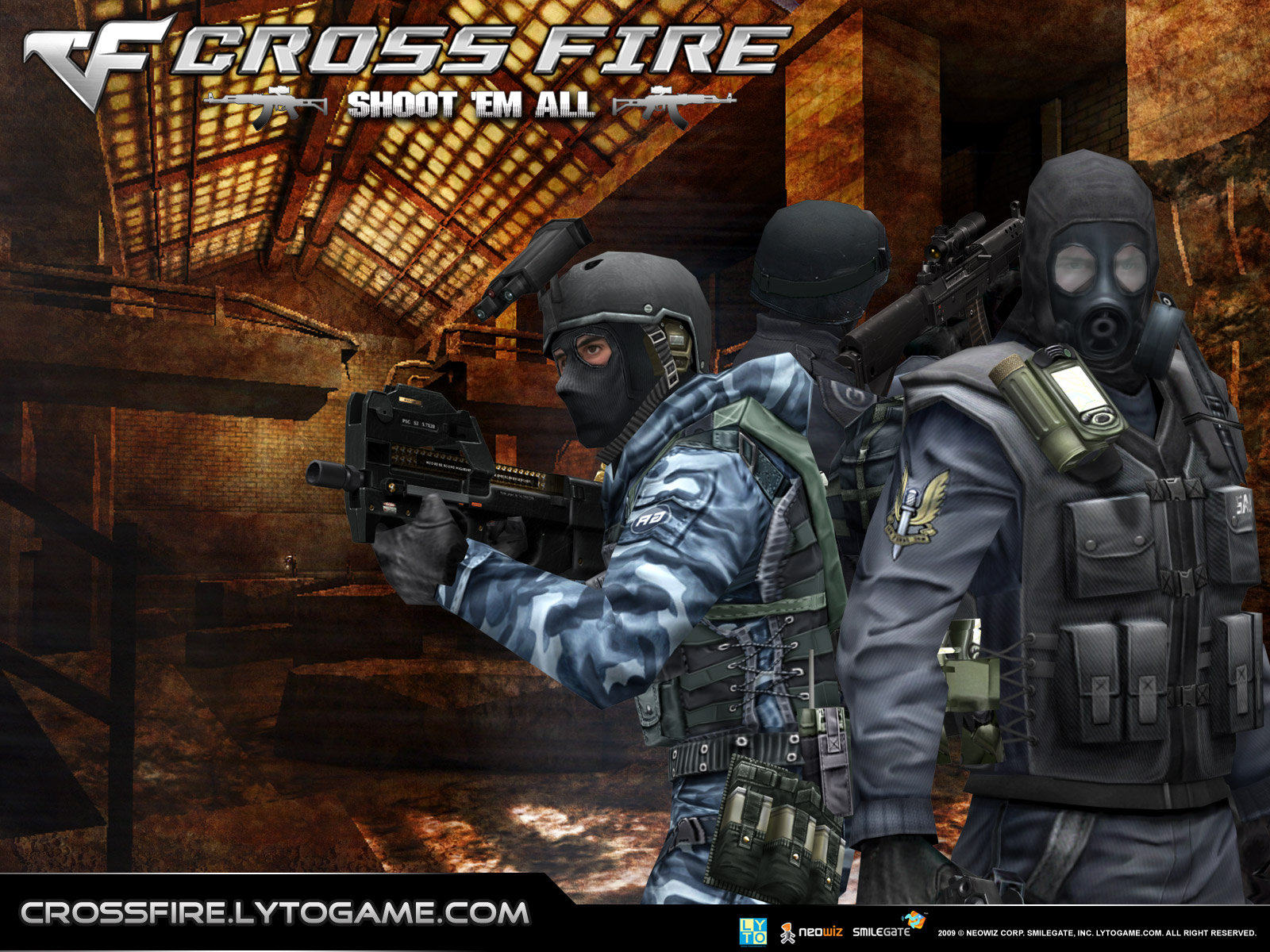 Game Wallpaper | Download Wallpaper: CrossFire Wallpaper Game Online