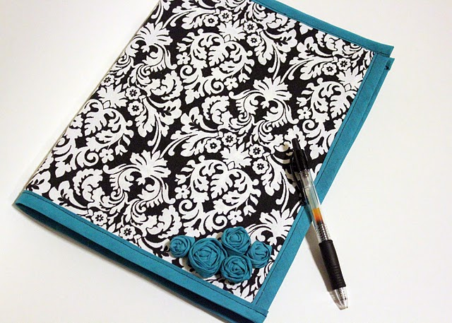 Fabric Cover Guest Book : Creative itch february