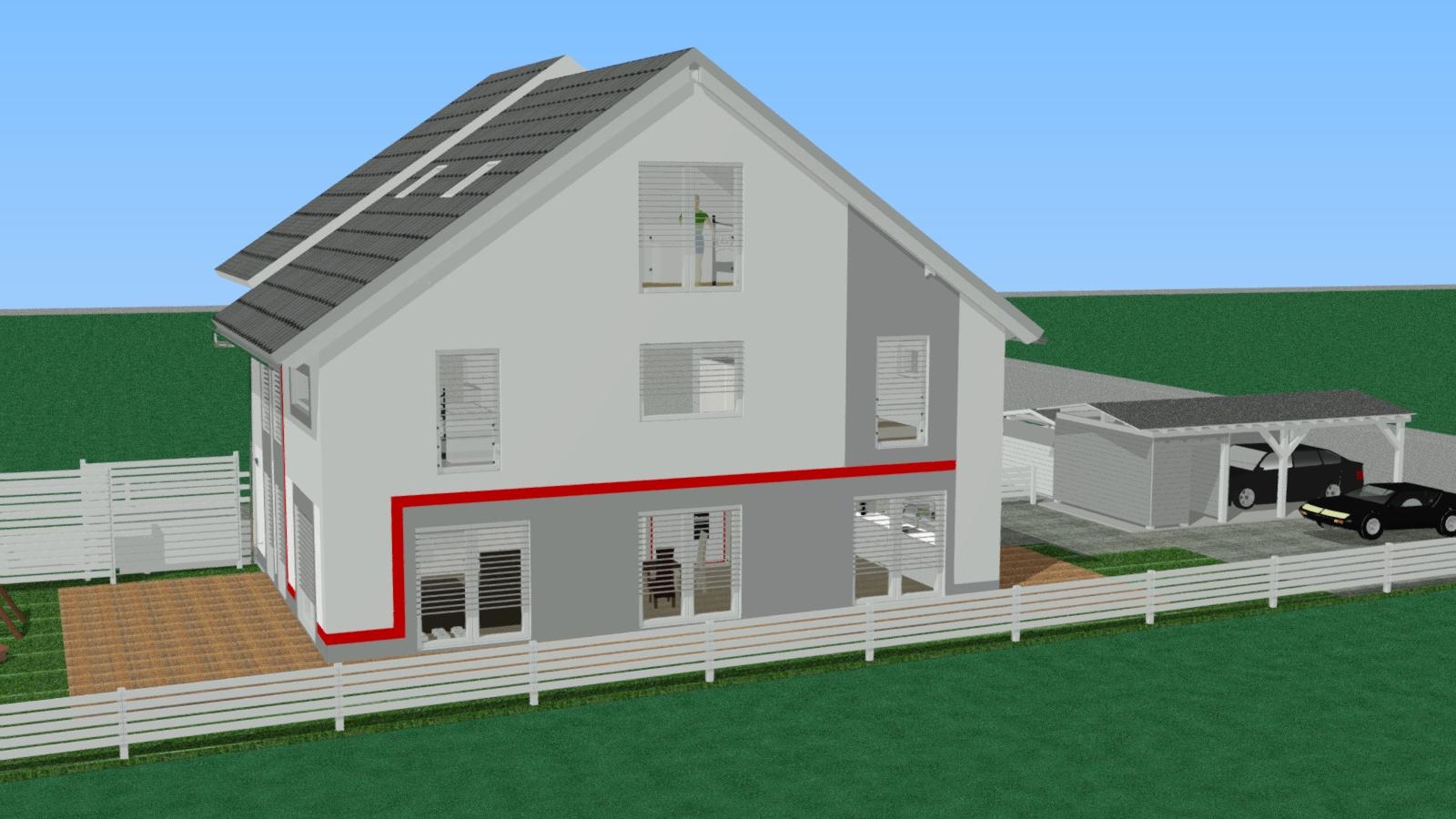 unser okal haus finale planung. Black Bedroom Furniture Sets. Home Design Ideas