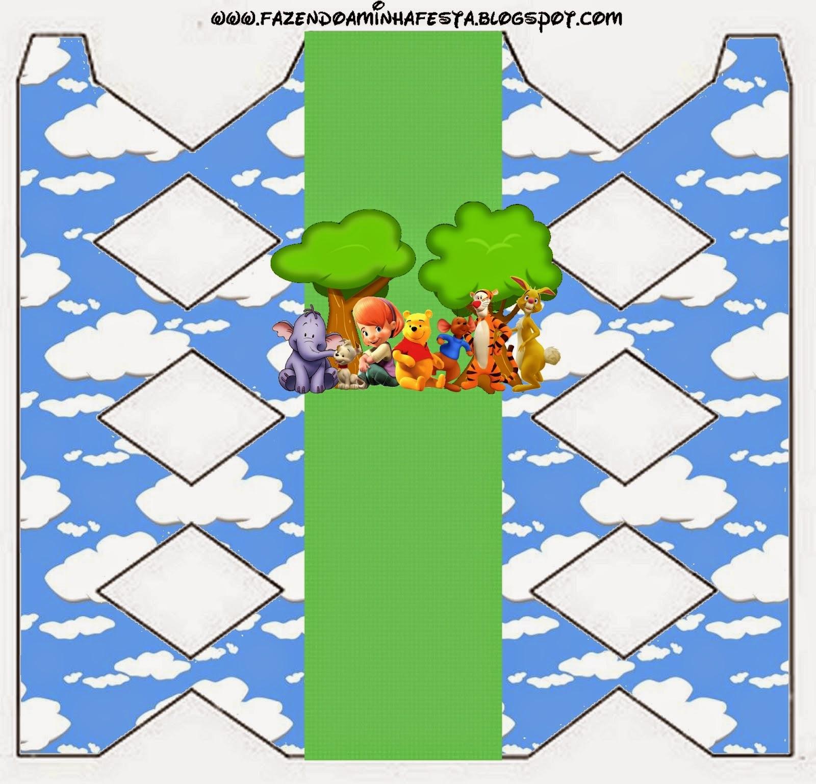 Imprimibles Gratis para Fiestas de Winnie the Pooh