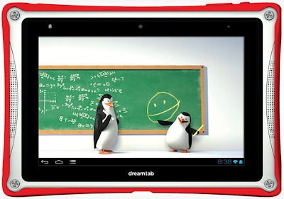 DreamWorks 8-Inch DreamTab Android Tablet