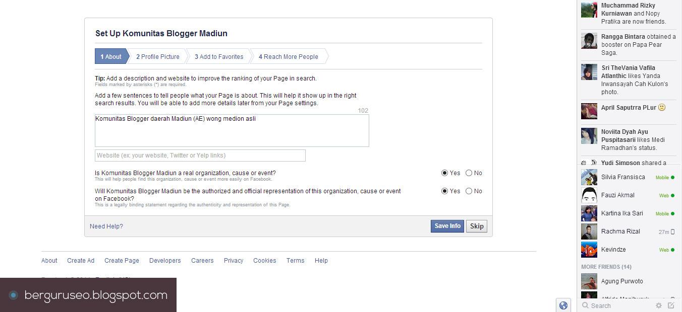Cara Membuat Fanspage Facebook 4