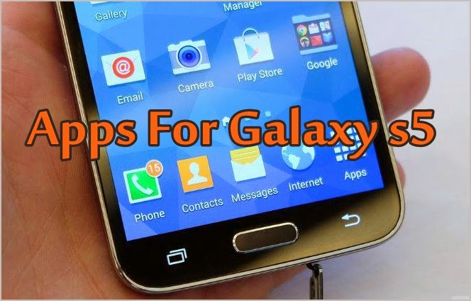 Aplicativos do Galaxy S5 vazaram e são disponibilizados para download