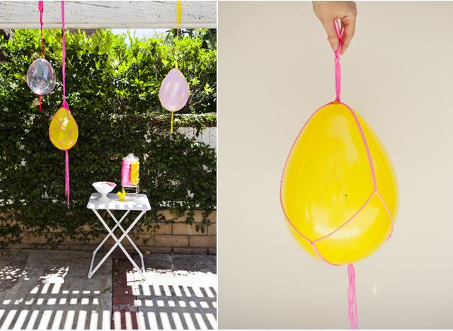 pendurar balões