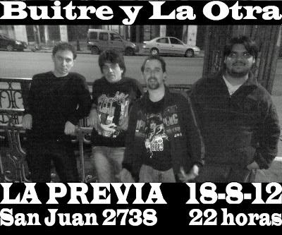 """Buitre y La Otra en """"La Previa"""" II Hernan buitre Deheza, nex lopez,"""