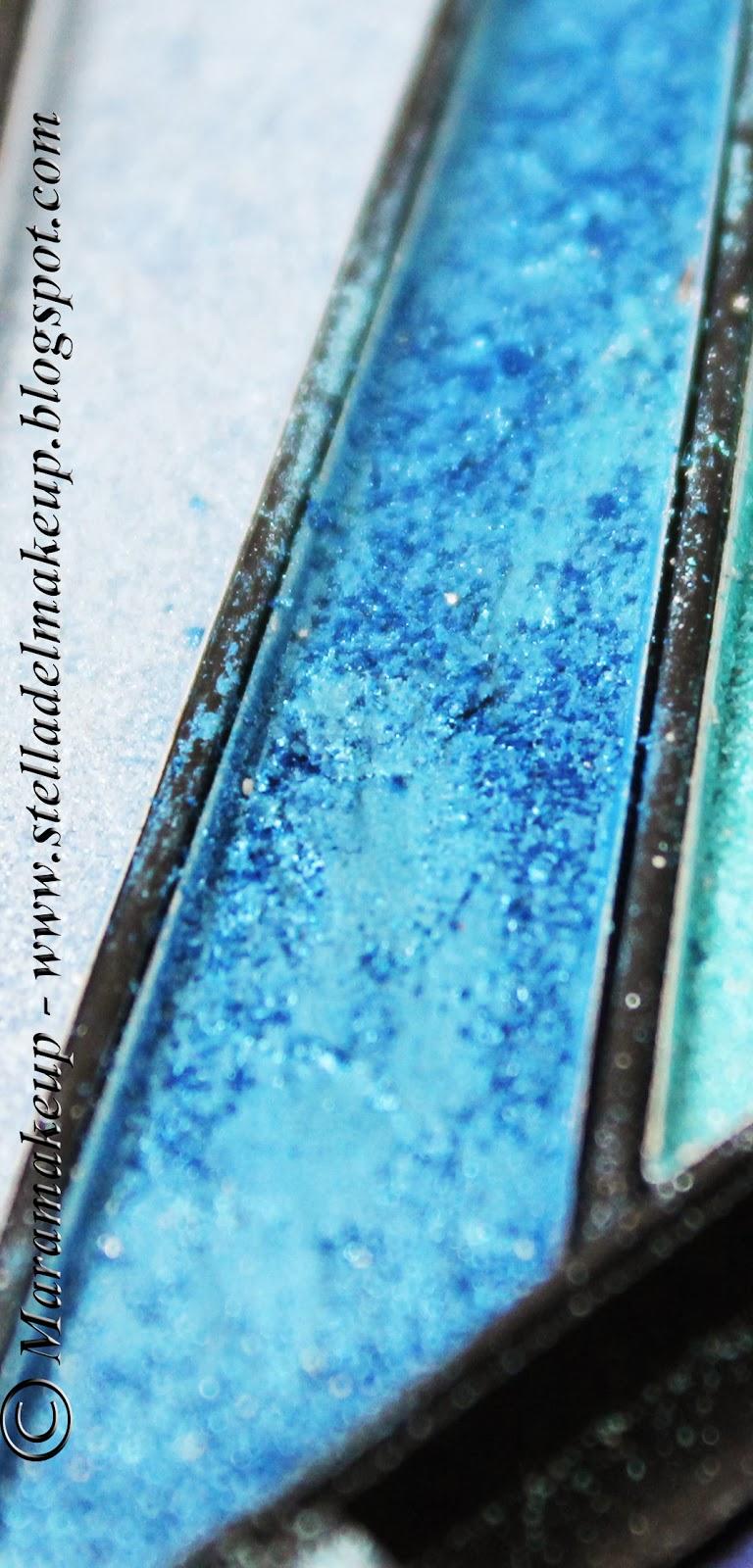 ombretto blu metallico