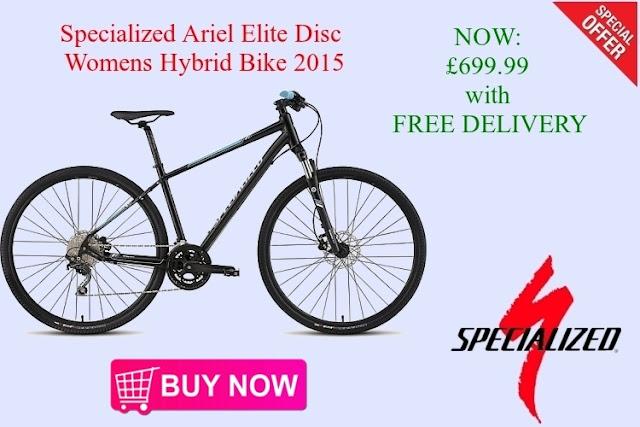 2015 Womens Hybrid Bike: Specialized Ariel Elite Disc