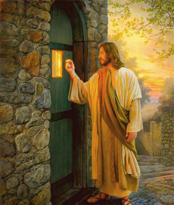 Jesus Knocking on Door Picture