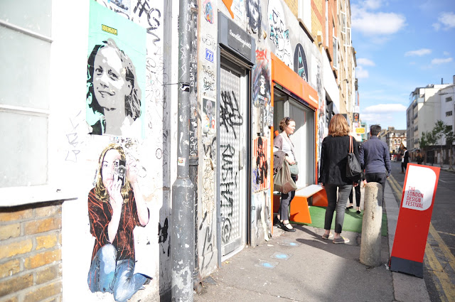 Redchurch Street grafitti Shoreditch