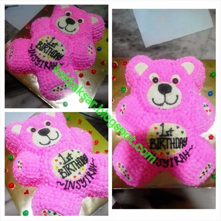 BEAR CUTE warna Pink