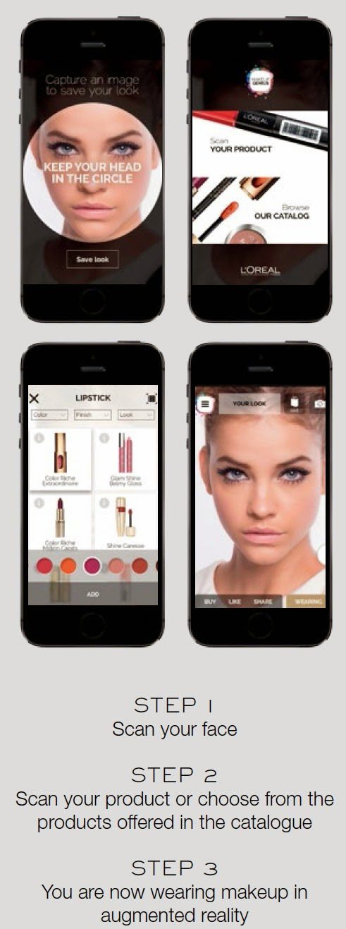 MAKE UP GENIUS The Ultimate Makeup Simulator by L'Oréal Paris
