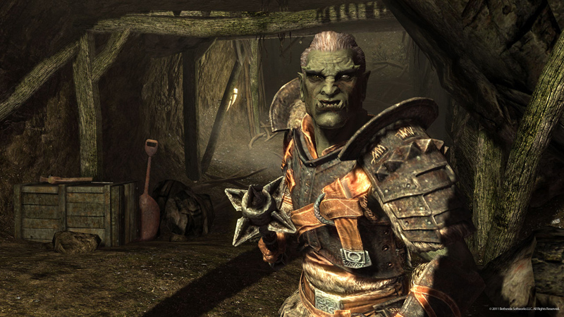 skyrim orc wallpaper - photo #2