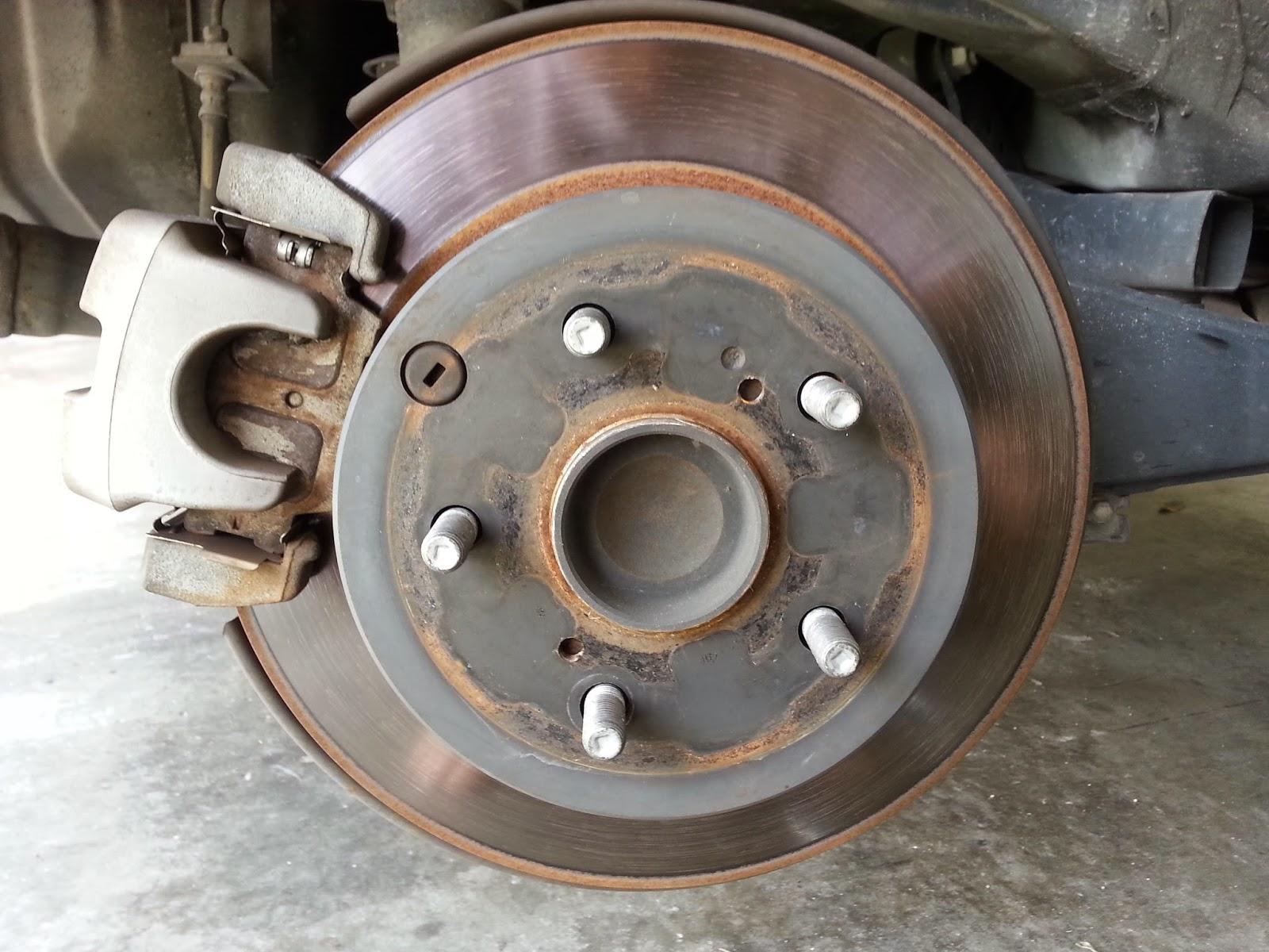 Toyota RAV4 Service Manual: Brake