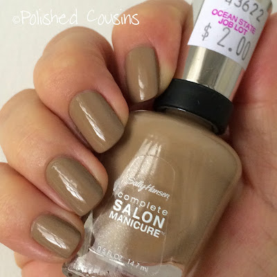 sally hansen, soy latte, swatch