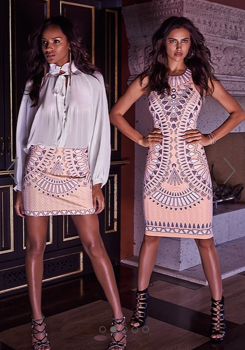Tribal Embroidered Skirt & Sequined Embroidered Dress