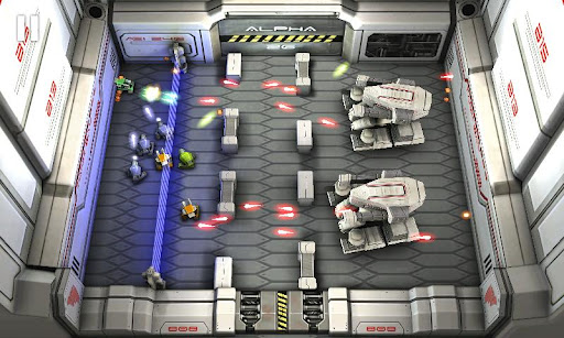tankhero-lasterwars must have android games 2012