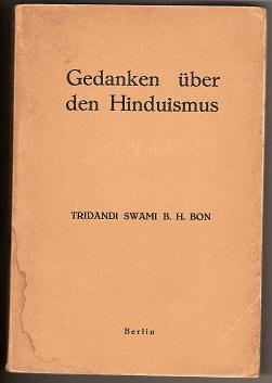Gedanken uber den Hinduismus