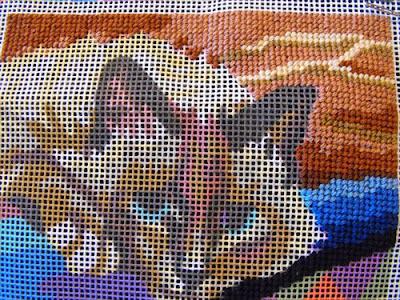 tapestry v cross stitch