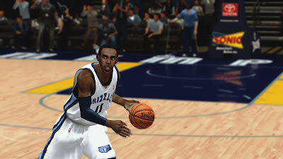 NBA 2K13 Mike Conley Face NBA2K Mods