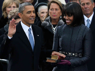 Barack Obama has swag. Michelle Obama's bangs.