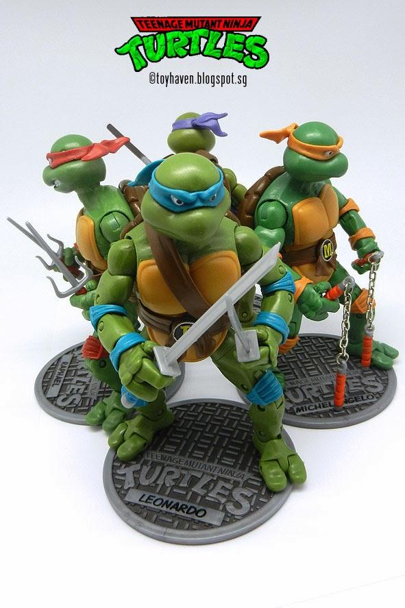 Teen Age Mutant Ninja Turtles TMNT 2012 Playmates Loose Figures