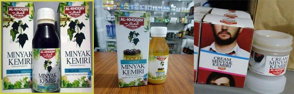 Minyak Kemiri Al Khodry Black Original Asli Bagus