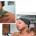 Igor Kannário tatua foto de maconha no corpo